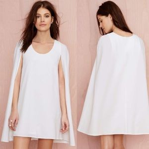 Nasty Gal Cape Minidress